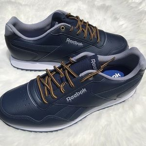 Navy Leather Reebok Classics